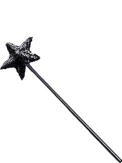 Sequin Black Magic Wand - 40cm