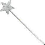 Magic Wand - Sequin Silver