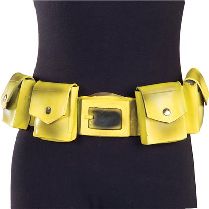 Batman Utility Belt - One Size - Superhero Fancy Dress Accessories front