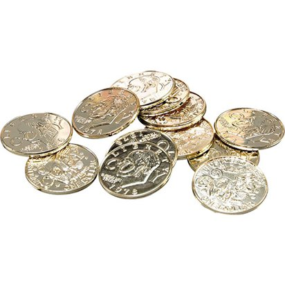 Pirate Coins  - Pirate Fancy Dress Costume Accessories front