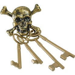 Pirate Skeleton Keys - 24 cm