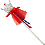Snow White Glitter Wand