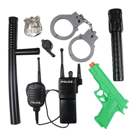 Police Accessory Kit - Fancy Dress Accessories front
