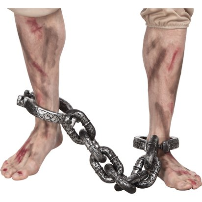 Ankle Shackles - Halloween Prop - 75cm front