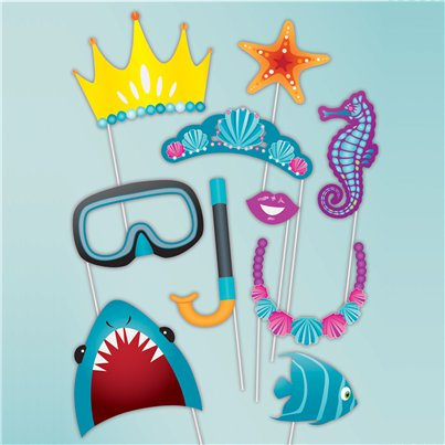 Under The Sea Photo Booth Props