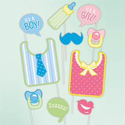 Baby Shower Photo Booth Props