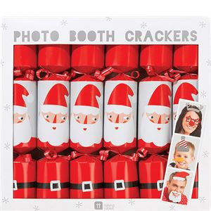 Waiting For Santa Photo Booth Crackers