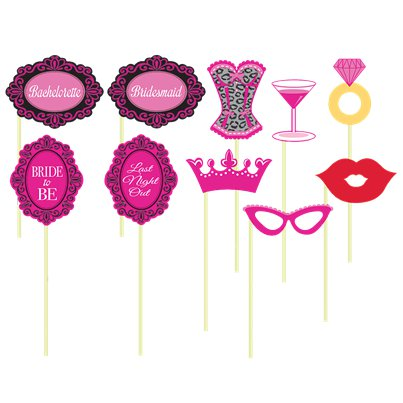 Hen Party Night Photo Booth Props
