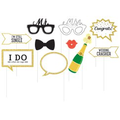 Wedding Day Photo Booth Props