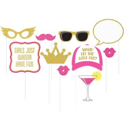 Girls Night Out Photo Booth Props