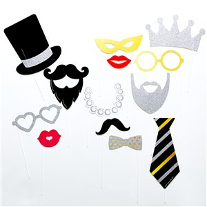 Photo Booth Fancy Party Photo Props