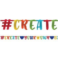 Photo Booth 'Create Your Own' Letter Banner