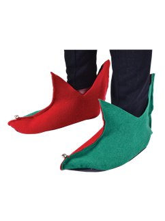 Value Elf Shoes Red/Green