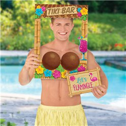 Coconut Bra Photo Prop