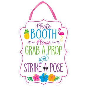Summer Photo Booth Sign - 29cm x 38cm