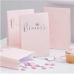 Princess Perfection Silver Foiled Party Bags