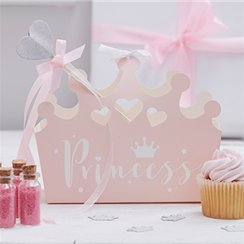 Princess Perfection Shaped Party Boxes