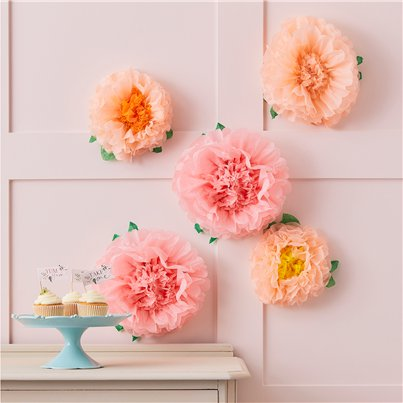 Fluffy Flower Decorations