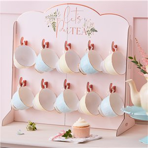 Rose Gold Tea Cup Stand