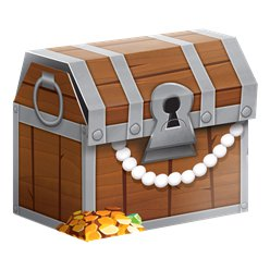 Pirate Treasure Favour Boxes - 8.3cm Treasure Chests