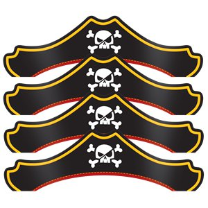 Pirate Treasure Pirate Party Hats
