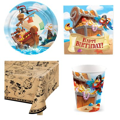 Pirate Treasure Party Value Party Pack