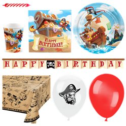 Pirate Treasure Party Deluxe Party Pack
