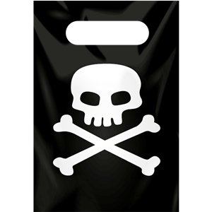 Pirate Skull & Crossbone Party Bags