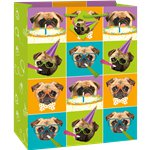 Pug Puppy Birthday Gift Bag