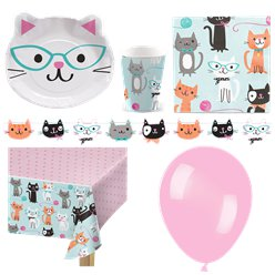 Purr-Fect Party Pack - Deluxe Pack for 8