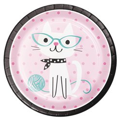 Purr-fect Party Dinner Plates - 23cm