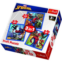 Spider-Man 3in1 Puzzle Set