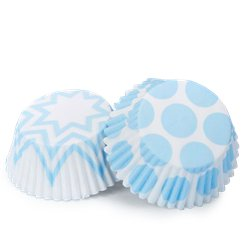 Pattern Works Blue Cupcake Cases