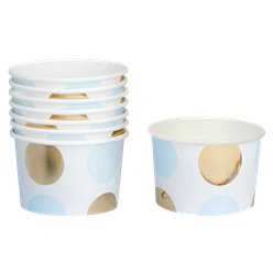 Pattern Works Blue & Gold Treat Tubs
