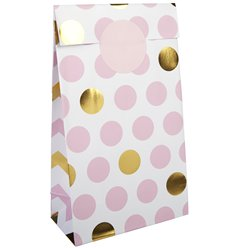 Pattern Works Pink Polka Dot Party Bags