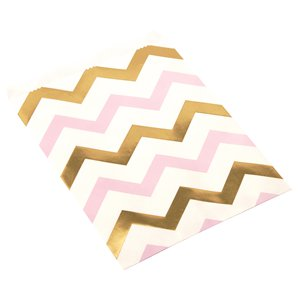 Pattern Works Pink Chevron Sweet Bags