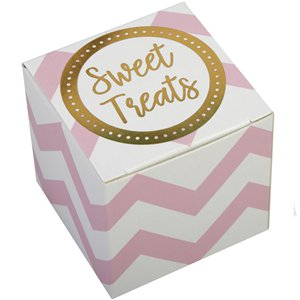Pattern Works Pink Favour Boxes