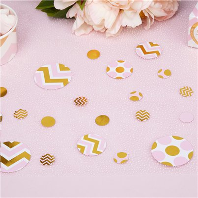 Pattern Works Pink Table Confetti