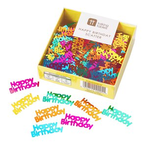 Rainbow Paper Table Confetti - 25g Bag