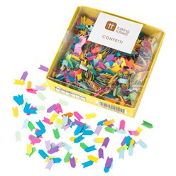 Rainbow Paper Table Confetti - 25g PK