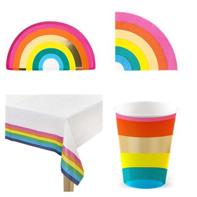 Rainbow Party Pack - Value Pack for 12