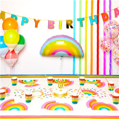 Rainbow Party Pack - Super Deluxe Pack for 12