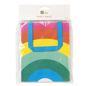 Rainbow Party Bags - 19cm