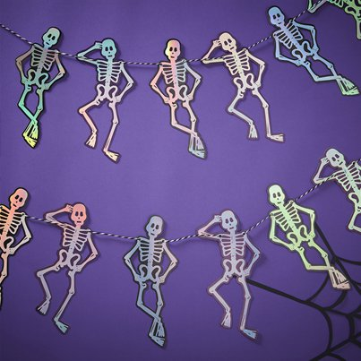 Creep It Real Skeleton Bunting (1.5m)