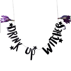Drink Up Witches Bunting - 2m