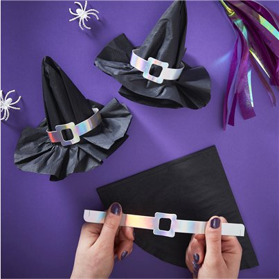 Creep It Real Witch Hat Napkins