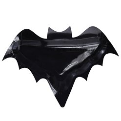Creep It Real Bat Shaped Paper Plates (32cm)