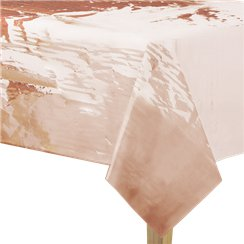 Rose Gold Foil Tablecover - 1.4m x 2.7m