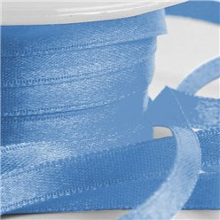 Blue Satin Ribbon - 6mm