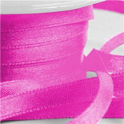 Fuchsia Pink Satin Ribbon - 6mm